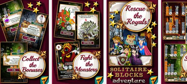 Solitaire Blocks: Royal Rescue