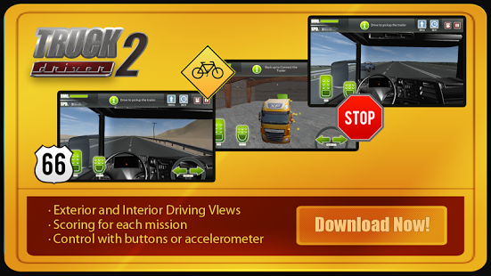 Truck Driver Highway Race 3D
