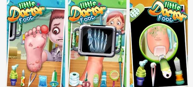 Little Foot Doctor- kids games