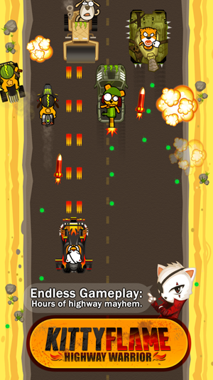 Kitty Flame: Highway Warrior