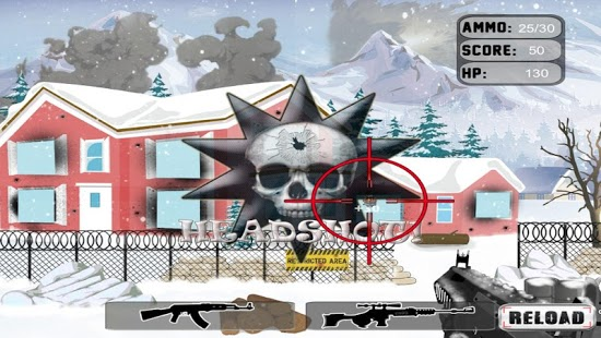 Stickman Winter Sniper Shooter