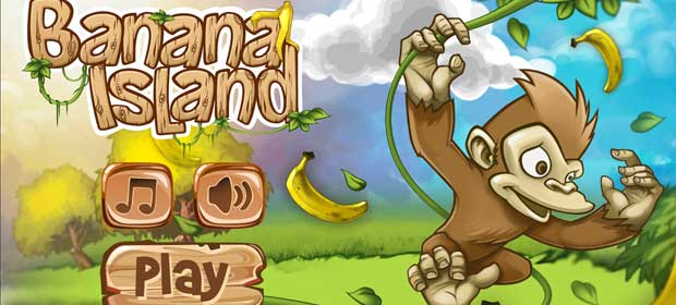 Banana Island–Monkey Run Game