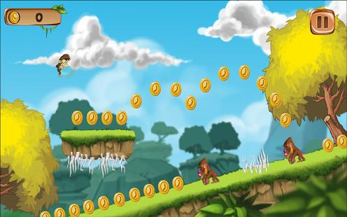 Monkey Banana Game Banana Island Monkey Run Game