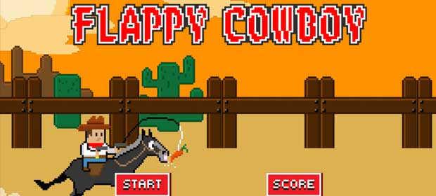Flappy Cowboy - Smash Shot!