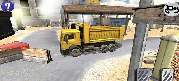3D Dump Truck City Parking SIM