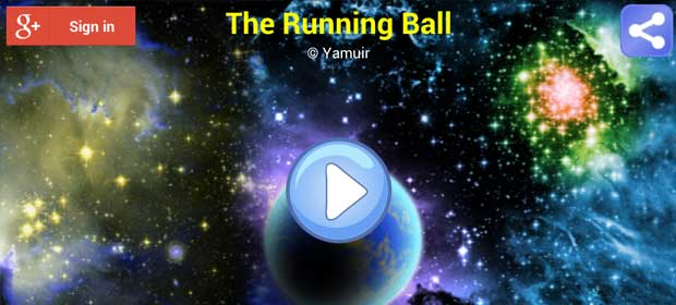 The Running Ball