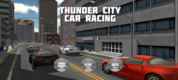 Thunder City Car Racing