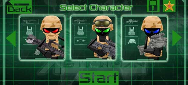 Stickman Commando Assassin 2