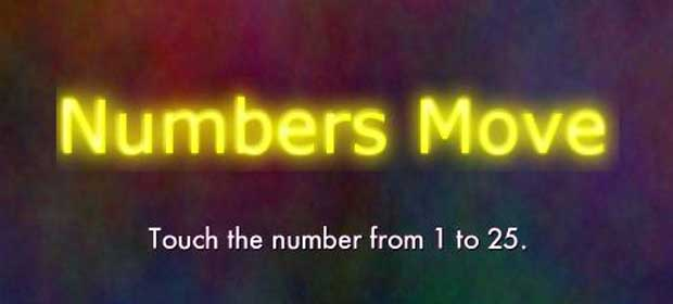 Numbers Move