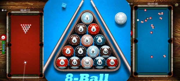 Pocket Pool Billards - 8 Balls