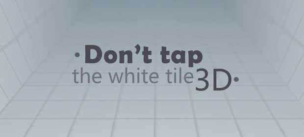 Don't tap the white tile 3D