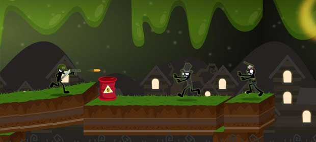 Stickman Zombie Killer Games
