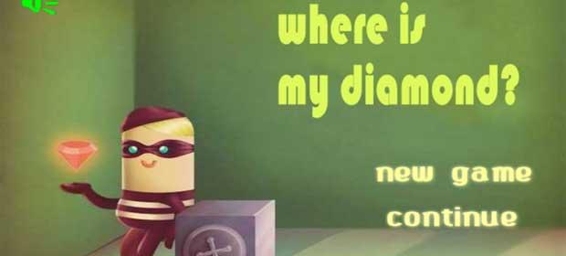 Where is my diamond