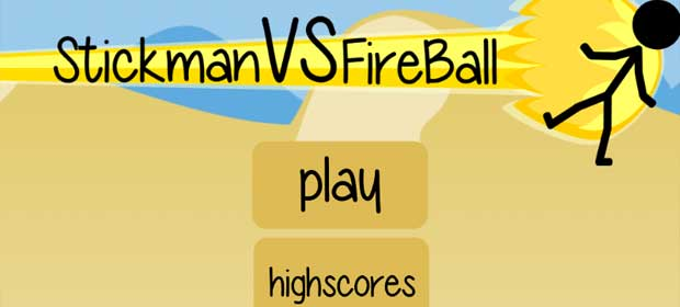 Stickman VS Fireball