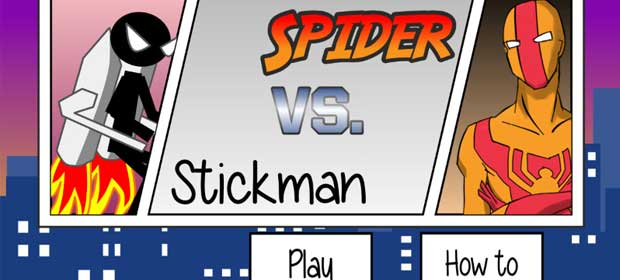 Spider VS Stickaman