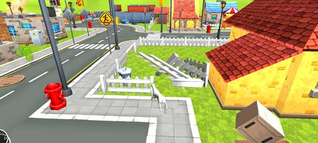 Goat Destruction Simulator