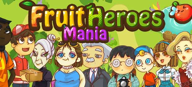 Fruit Heroes Mania:Free Match