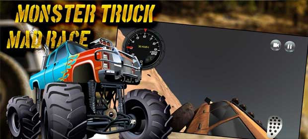 Monster Truck Mad Race