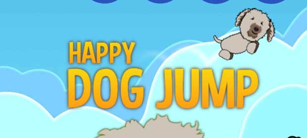 Happy Dog Jump