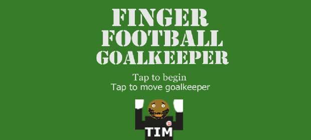 Finger Football Goalkeeper