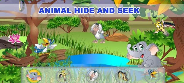 Animal Hide and Seek for Kids