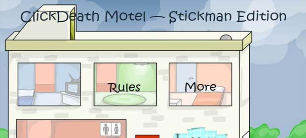 Stickman ClickDeath Motel