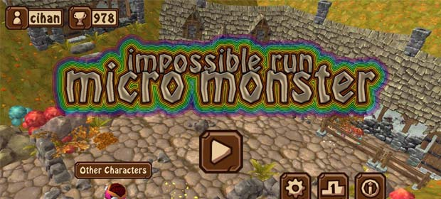 Impossible Run Micro Monster
