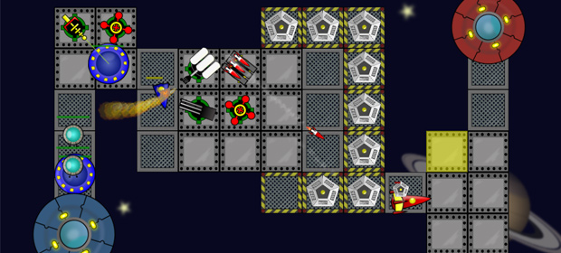 Space Raiders Tower Defense