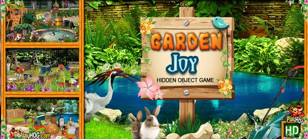 Garden Joy Hidden Object Game