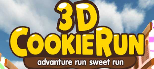 3D Cookie Man Run Rush