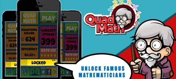 QuadMath: Challenge Yourself !