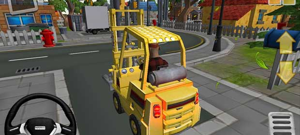 Extreme ForkLift - city drive