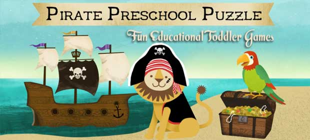 Pirate Preschool Puzzle Game