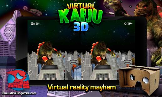 Virtual Kaiju 3D