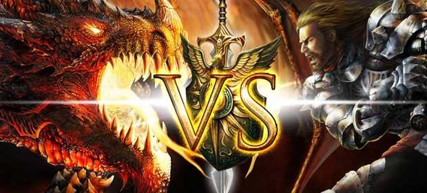 Dragon vs Gods