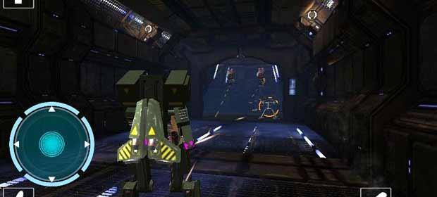 Robot Space Base