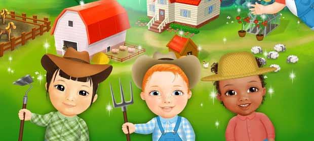 Sweet Baby Girl Farm Adventure