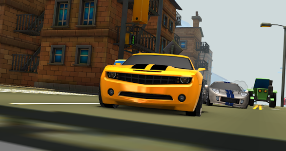 Car Toon Town » Android Games 365 - Free Android Games Download