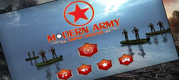 Modern Army Sniper Shooter