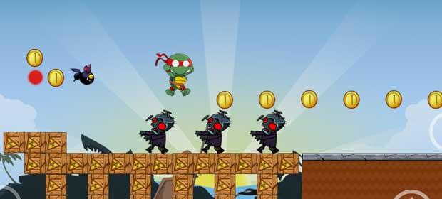 Ninja Turtle vs. Zombies