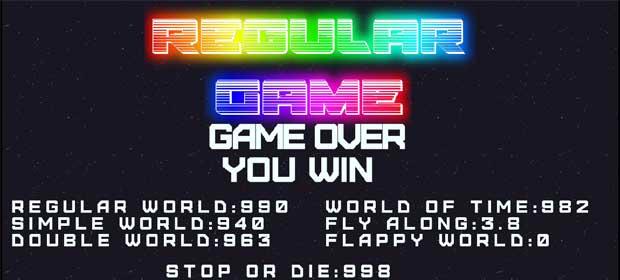 Regular game