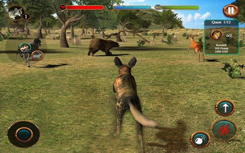 Wild Dog Simulator 3D » Android Games 365 - Free Android Games Download