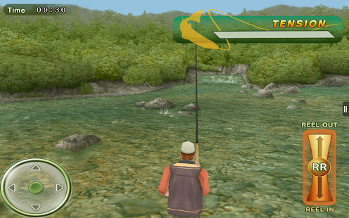 Fly fishing 3d android games 365 free android games for Real life fishing games
