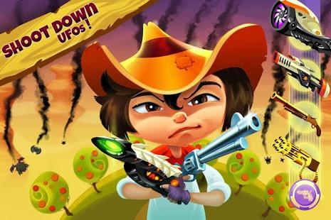 Cowboys vs UFO: Alien shooter