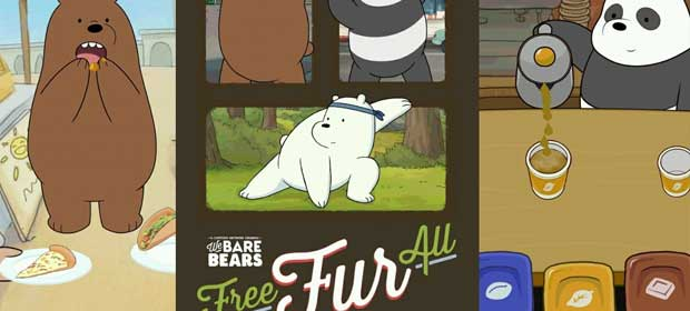 Free Fur All - We Bare Bears