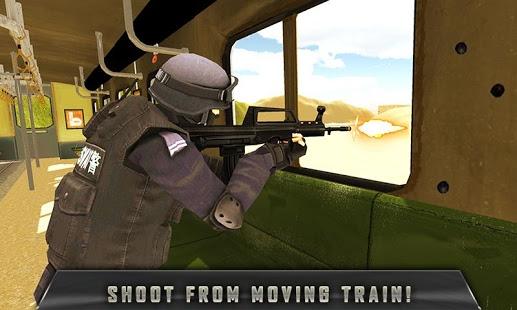 SWAT Train Mission Crime Rescu