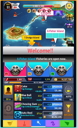Tap fishing master android games 365 free android for Tap tap fish game