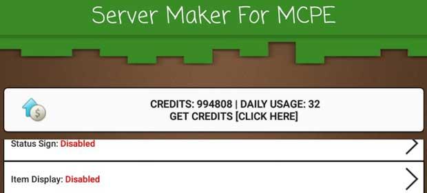 Mcpe server maker