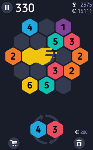 Make7 hexa puzzle 187 android games 365 free android games download