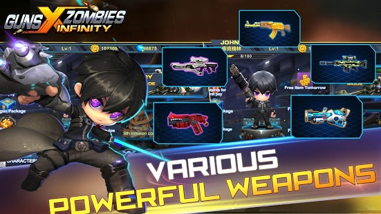 Guns glory zombies android phones